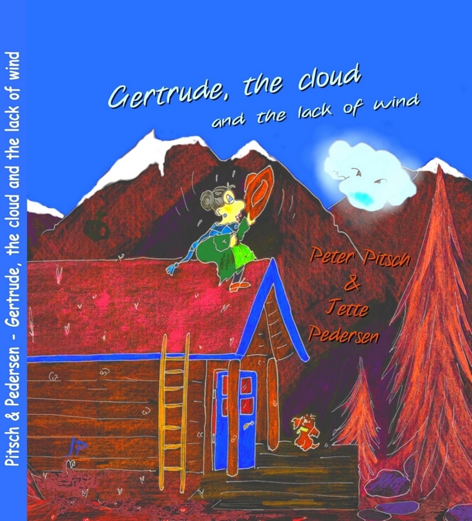 Gertrude, the cloud and the lack of wind