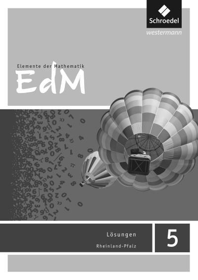 Elemente der Mathematik SI 5. Lösungen. Rheinland-Pfalz