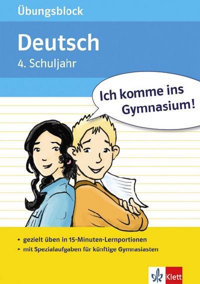Übungsblock Deutsch 4. Schuljahr