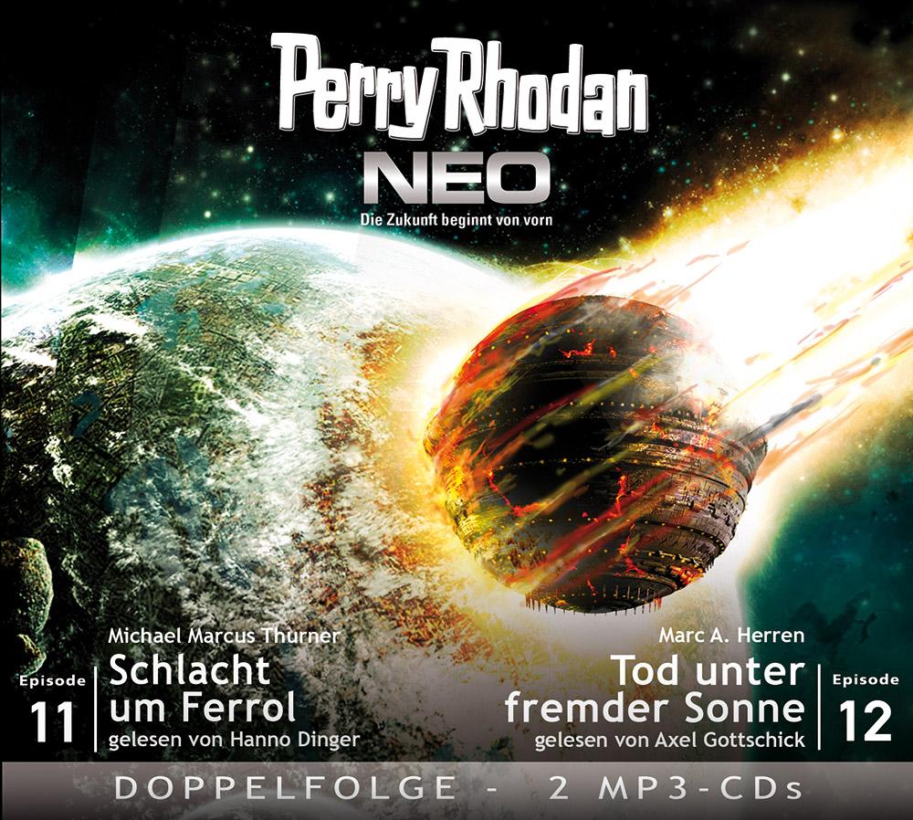Perry Rhodan, NEO - Schlacht um Ferrol. Tod unter fremder Sonne, 2 MP3-CDs  ...