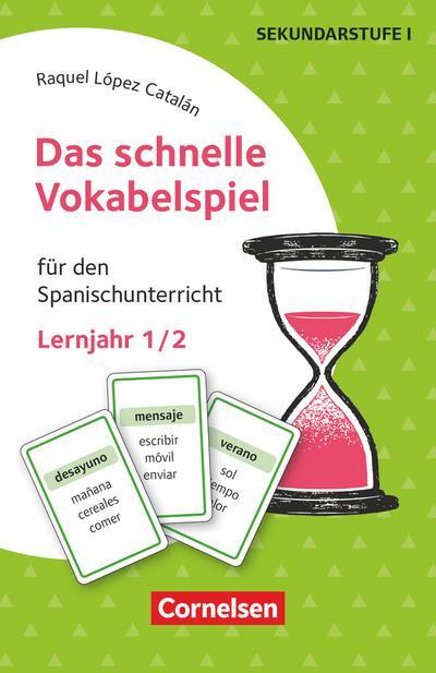 Das schnelle Vokabelspiel - Spanisch - Lernjahr 1/2