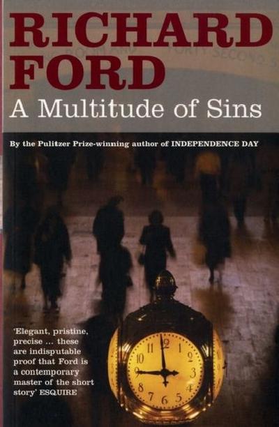 A Multitude of Sins. Eine Vielzahl von Sünden, englische Ausgabe