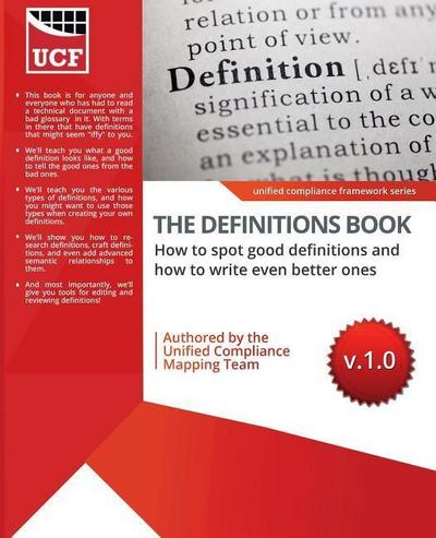 The Definitions Book: How to Spot Good Ones, and How to Write Even Better Ones!
