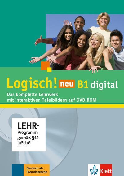 Logisch! neu B1. Lehrwerk digital mit interaktiven Tafelbildern, DVD-ROM