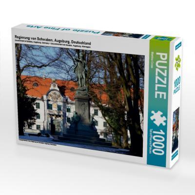 Regierung von Schwaben, Augsburg, Deutschland (Puzzle)