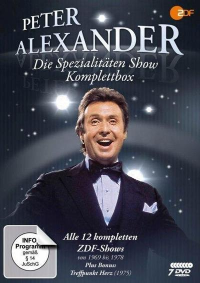 Die Peter Alexander Spezialitäten Show - Komplettbox (Alle 12 ZDF-Shows plus Treffpunkt Herz)