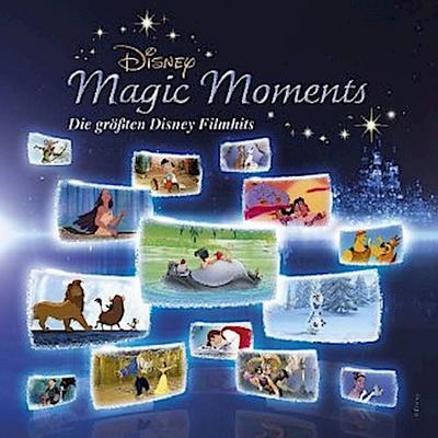 Disney Magic Moments - Die größten Disney Filmhits, 1 Audio-CD