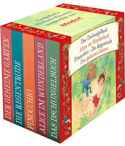 kinder Hörbuch-Klassiker-Box 2 (kinder Hörbuch-Klassiker-Box 2016)