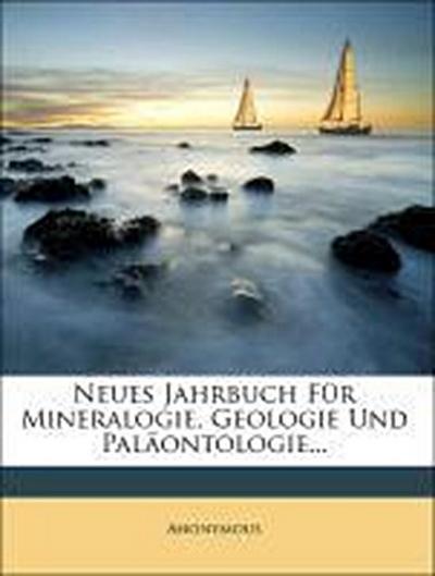 Neues Jahrbuch für Mineralogie, Geologie und Paläontologie, Jahrgang 1865, erstes Heft