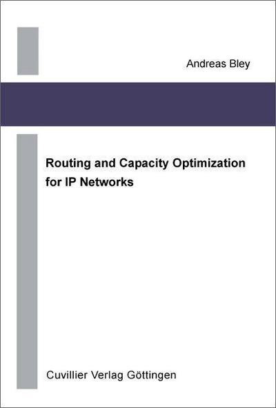 Routing and Capacity Optimization for IP Networks
