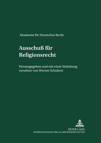Ausschuß für Religionsrecht