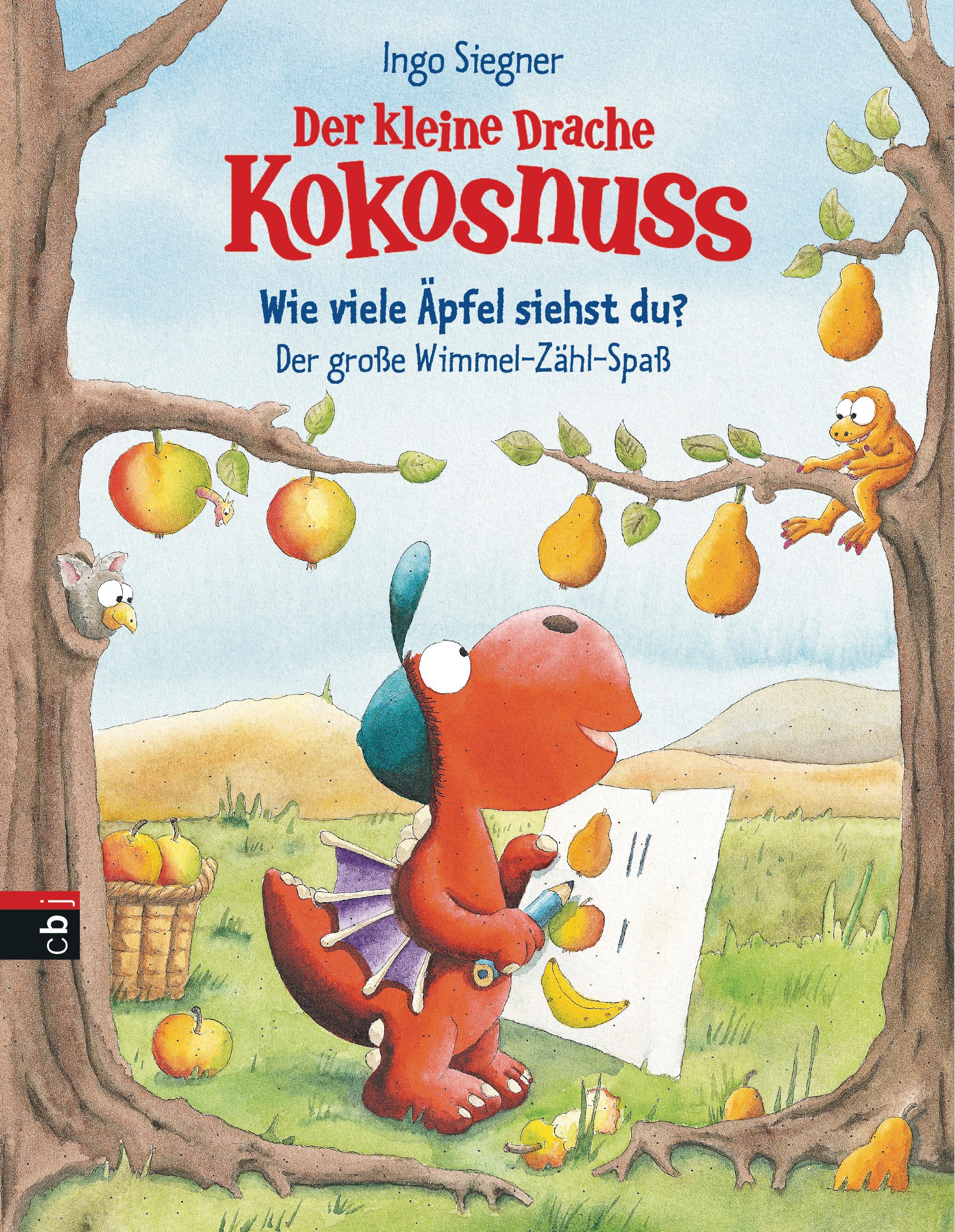 NEU Der kleine Drache Kokosnuss - Wie viele Äpfel siehst du? Ingo Siegner 173503
