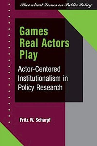 Games Real Actors Play