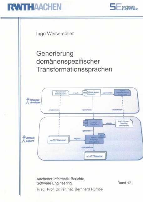 Generierung domänenspezifischer Transformationssprachen Ingo Weisemöller