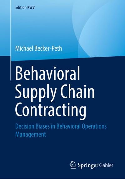 Behavioral Supply Chain Contracting