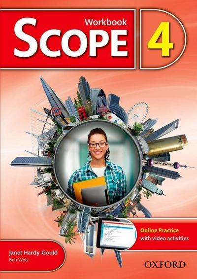 Scope: Level 4. Workbook with Online Practice (Pack)