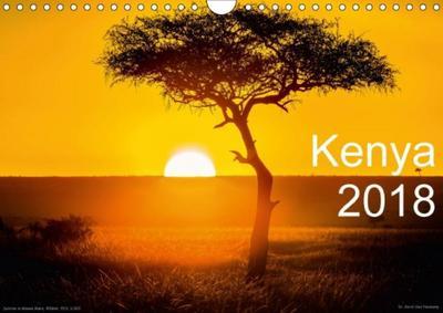 Kenya 2018 / UK-Version (Wall Calendar 2018 DIN A4 Landscape)
