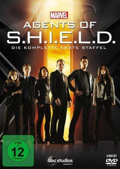Marvel's Agents of S.H.I.E.L.D.. Staffel.1, 6 DVDs