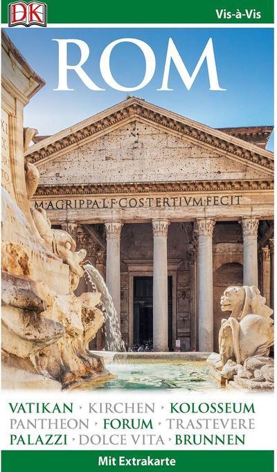 Vis-à-Vis Reiseführer Rom: mit Extra-Karte und Mini-Kochbuch zum Herausnehmen