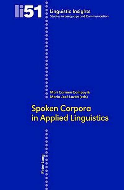 Spoken Corpora in Applied Linguistics