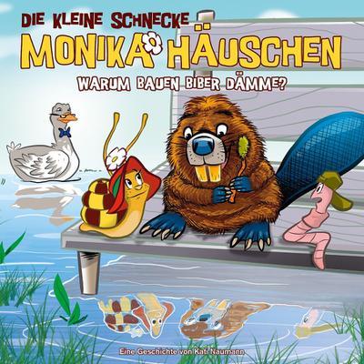 Die kleine Schnecke Monika Häuschen 44: Warum bauen Biber Dämme?