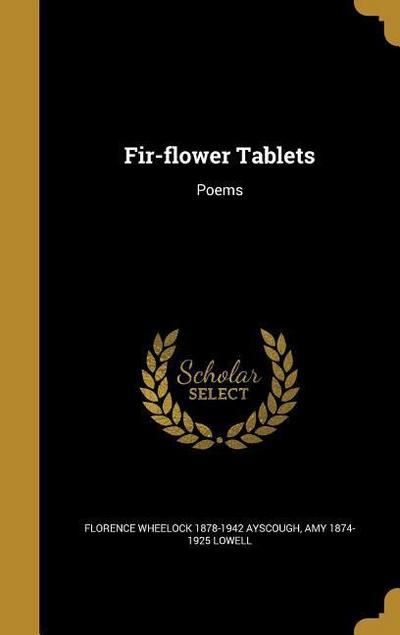 FIR-FLOWER TABLETS