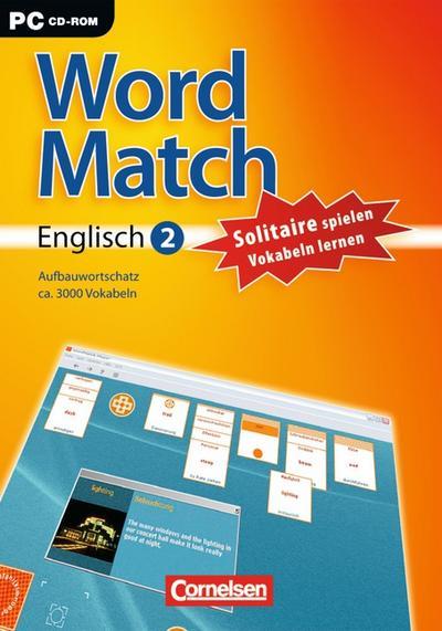 Word Match, Englisch Aufbauwortschatz, 1 CD-ROM