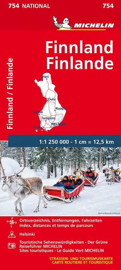 Michelin Finnland 1:1.250.000