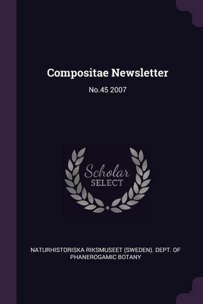 Compositae Newsletter: No.45 2007