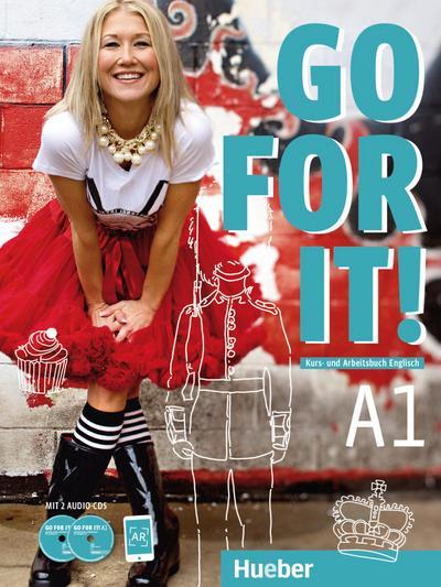 Go for it! A1 Kursbuch + Arbeitsbuch mit 2 Audio-CDs