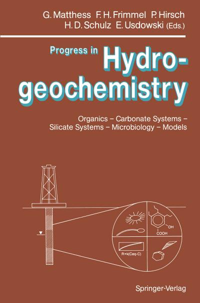 Progress in Hydrogeochemistry