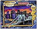 Brooklyn Bridge Malen nach Zahlen Serie Premium