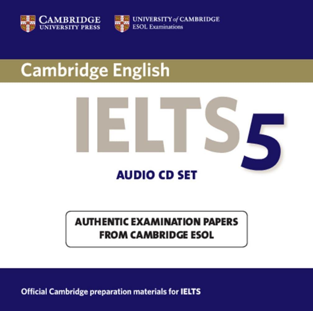 Cambridge IELTS 5. 2 Audio CDs
