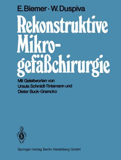 Rekonstruktive Mikrogefachirurgie