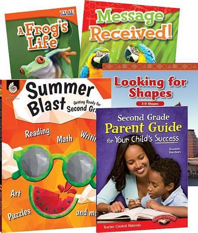 Learn-At-Home: Summer Stem Bundle with Parent Guide Grade 2
