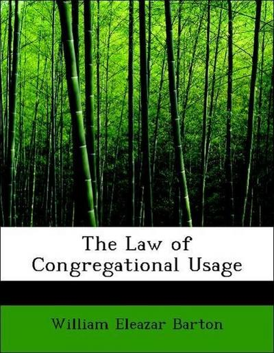The Law of Congregational Usage