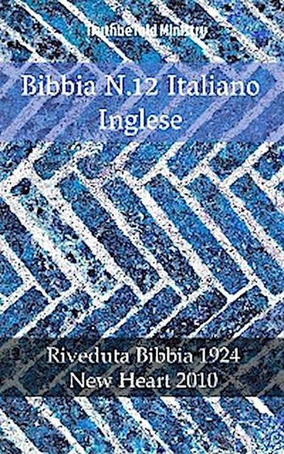 Bibbia N.12 Italiano Inglese