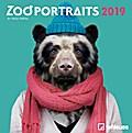 Zoo Portraits 2019 Mini-Broschürenkalender