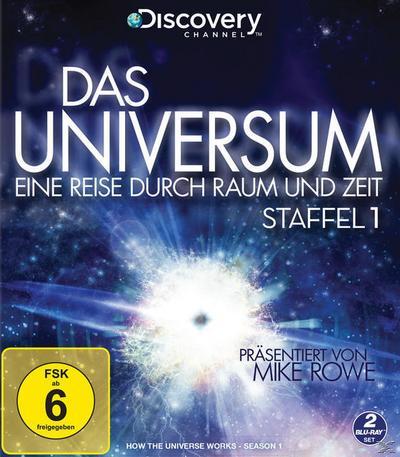Das Universum - Eine Reise durch Raum und Zeit - Staffel 1 - 2 Disc Bluray