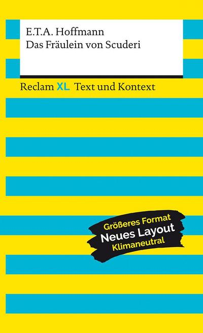 Das Fräulein von Scuderi. Textausgabe mit Kommentar und Materialien