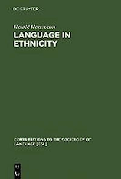 Language in Ethnicity