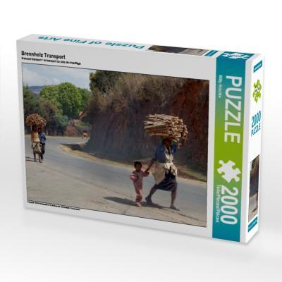 Brennholz Transport (Puzzle)