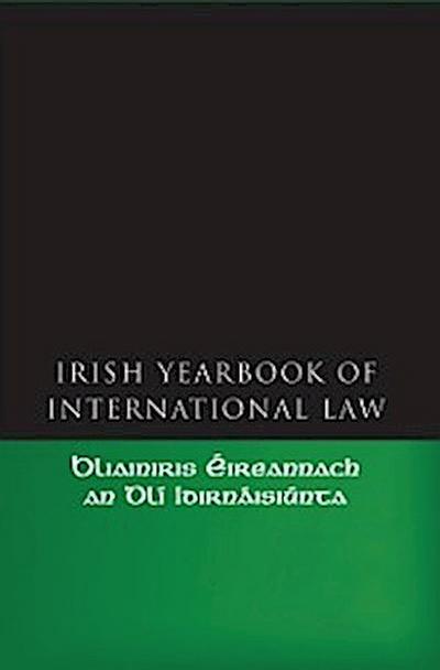 Irish Yearbook of International Law, Volume 1  2006