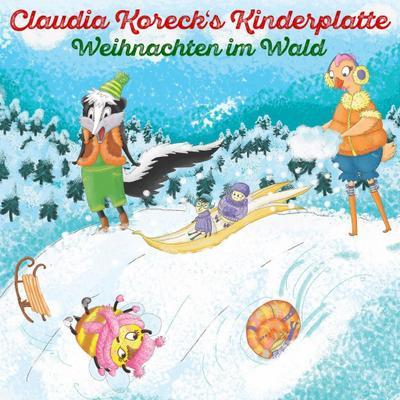 Kinderplatte II (Weihnachten im Wald)