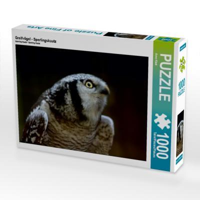 Greifvögel - Sperlingskautz (Puzzle)