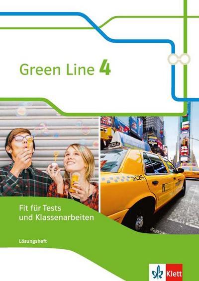 Green Line 4. Fit für Tests und Klassenarbeiten mit Lösungsheft und CD-ROM. Bundesausgabe ab 2014