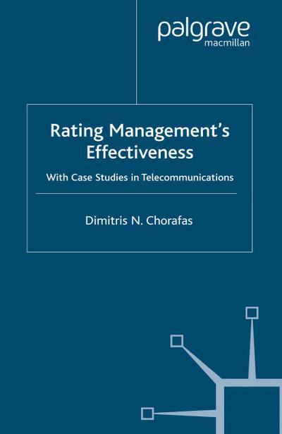 Rating Management's Effectiveness