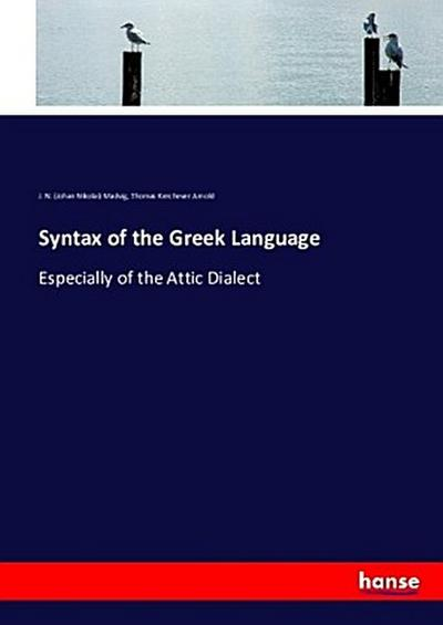 Syntax of the Greek Language