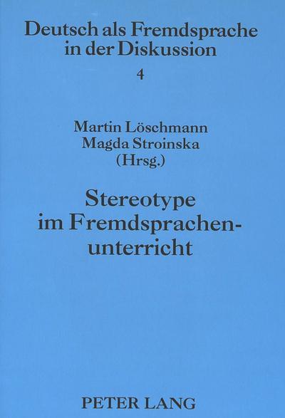 Stereotype im Fremdsprachenunterricht
