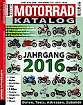 Motorrad-Katalog 2016; Deutsch